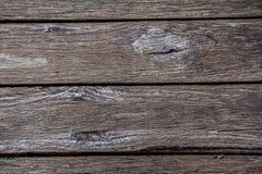 Vecchia plancia di legno usata per il pavimento o il fondo della tavola Immagine Stock