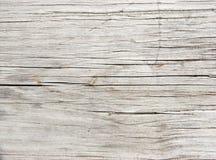 Vecchia plancia sbiadetta del Redwood Immagini Stock