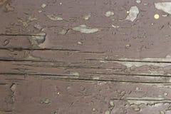Vecchia plancia, struttura di legno Immagini Stock