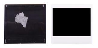 Vecchia polaroid Fotografia Stock Libera da Diritti