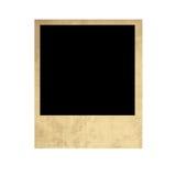 Vecchia polaroid isolata Immagini Stock