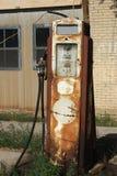 Vecchia pompa della benzina Fotografia Stock