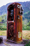 Vecchia pompa della benzina Fotografie Stock Libere da Diritti