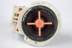 Vecchia pompa della lavatrice Pezzi di ricambio per gli elettrodomestici immagini stock