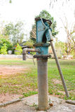 Vecchia pompa idraulica Fotografie Stock Libere da Diritti