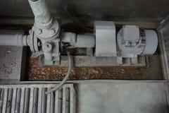 Vecchia pompa idraulica Fotografia Stock Libera da Diritti