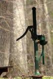 Vecchia pompa idraulica di modo Fotografia Stock