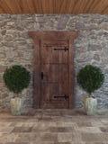 Vecchia porta Fotografie Stock Libere da Diritti