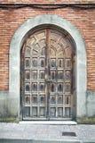 Vecchia porta Immagini Stock Libere da Diritti