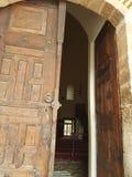 Vecchia porta Adalia di eredità Fotografia Stock Libera da Diritti