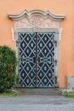 Vecchia porta della chiesa Fotografia Stock Libera da Diritti