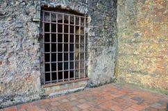 Vecchia porta della prigione Fotografia Stock Libera da Diritti