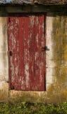 Vecchia porta della tettoia Immagine Stock Libera da Diritti