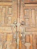 Vecchia porta di eredità Fotografia Stock Libera da Diritti