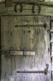 Vecchia porta di granaio Immagini Stock Libere da Diritti