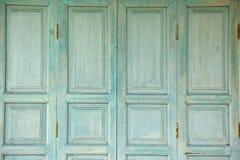 Vecchia porta di legno Fotografia Stock