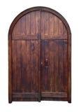Vecchia porta di legno Fotografie Stock