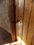 Vecchia porta di legno Fotografia Stock Libera da Diritti