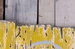 Vecchia porta di legno Immagine Stock Libera da Diritti