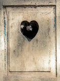 Vecchia porta di legno in Meran, Tirolo, Fotografie Stock Libere da Diritti