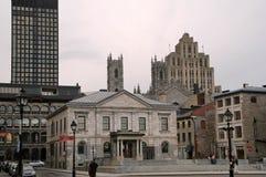 Vecchia porta di Montreal immagini stock