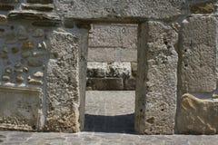 Porta di pietra Immagine Stock