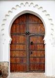 Vecchia porta marocchina fotografie stock libere da diritti