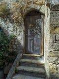 Vecchia porta Mediterranea Immagine Stock Libera da Diritti