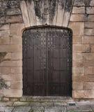 Vecchia porta Ronda1 Fotografia Stock Libera da Diritti