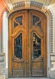 Vecchia porta, Valencia, Spagna Fotografia Stock Libera da Diritti