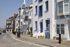 Vecchia Portsmouth. Il Hampshire. L'Inghilterra Fotografie Stock