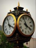vecchia posta dell'orologio Fotografia Stock