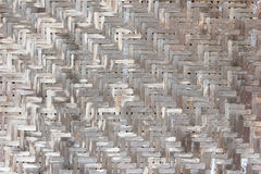 Vecchia povera parete di bambù Fotografie Stock Libere da Diritti