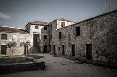 Vecchia prigione abbandonata Fotografia Stock Libera da Diritti