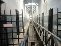 Vecchia prigione in argentina la Terra del Fuoco Fotografia Stock Libera da Diritti
