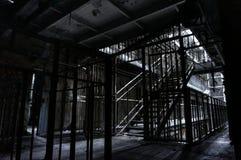 Vecchia prigione spaventosa Fotografie Stock Libere da Diritti