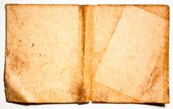 Vecchia priorità bassa antica del documento dell'annata Fotografia Stock Libera da Diritti