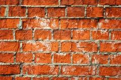 Vecchia priorità bassa del brickwall Fotografia Stock