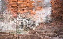Vecchia priorità bassa del muro di mattoni Fotografie Stock
