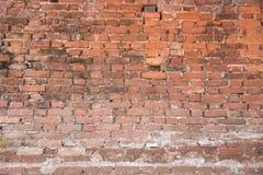 Vecchia priorità bassa del muro di mattoni Immagine Stock Libera da Diritti
