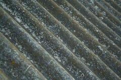 Vecchia priorità bassa del tetto di ardesia Fotografia Stock Libera da Diritti
