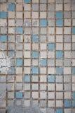 Vecchia priorità bassa delle mattonelle di ceramica Fotografie Stock Libere da Diritti