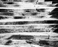 Vecchia priorità bassa delle scale Immagine Stock