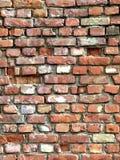 Vecchia priorità bassa dettagliata del muro di mattoni Fotografie Stock