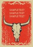 Vecchia priorità bassa di carta del cowboy Immagini Stock Libere da Diritti