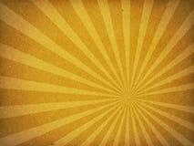 Vecchia priorità bassa di carta del raggio di Sun di struttura del cartone Immagini Stock