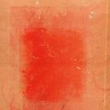 Vecchia priorità bassa di colore rosso del grunge Fotografie Stock Libere da Diritti