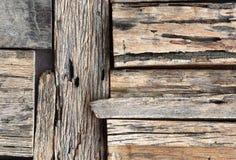 Vecchia priorità bassa di legni Immagini Stock Libere da Diritti