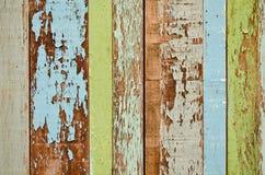 Vecchia priorità bassa di legno Immagine Stock Libera da Diritti