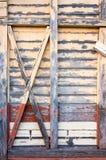 Vecchia priorità bassa di legno della parete Fotografie Stock